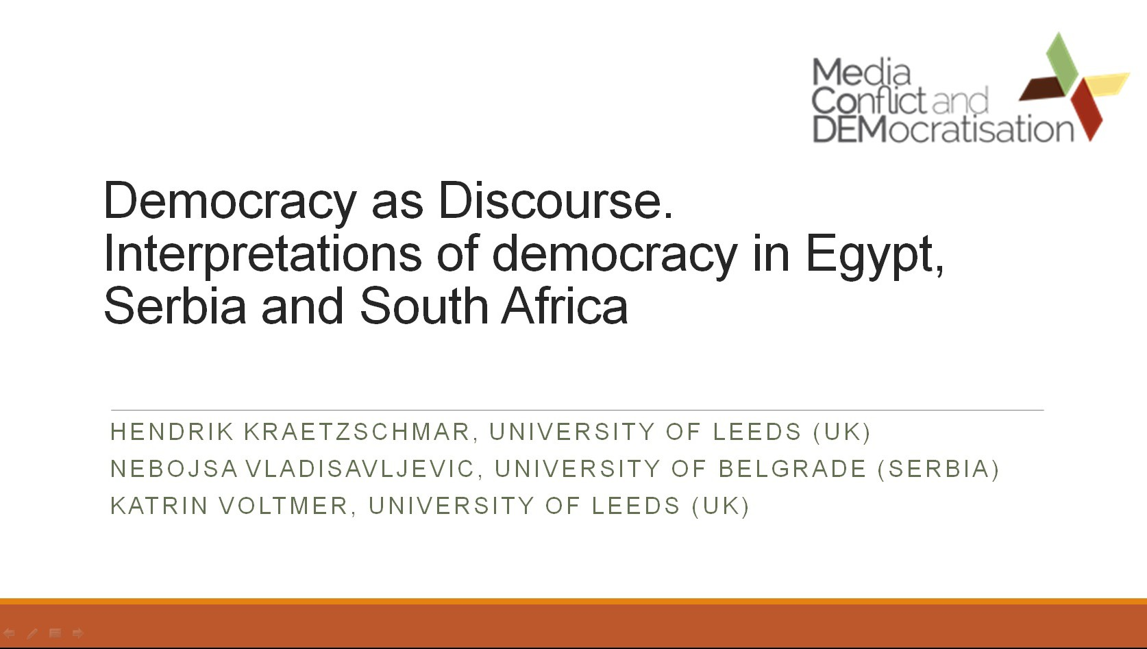 Democracy in Egypt